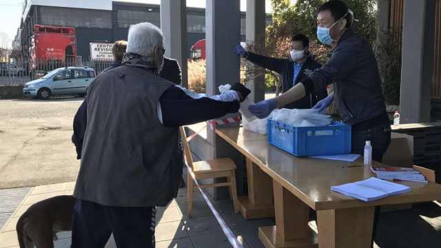 留学生讲述封国之下意大利:买菜需带声明书,侨团免费发口罩