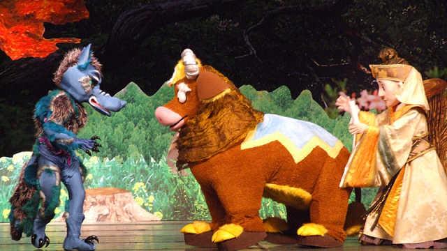 儿童剧《东郭先生与狼》:打猎不成反被刺,拿反弓箭竟想猎狼