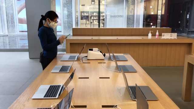 苹果送修产品暂无法取回,中国零售店已恢复正常