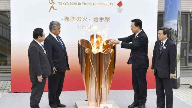 东京奥运推迟至2021年,日媒:东京奥运火炬传递取消