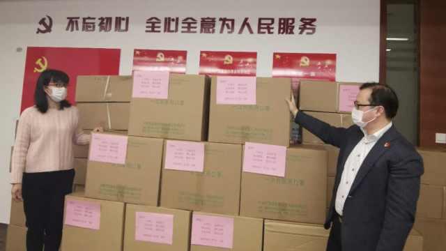 无锡向日本丰川反向捐赠5万只口罩:2月获赠对方4500只口罩
