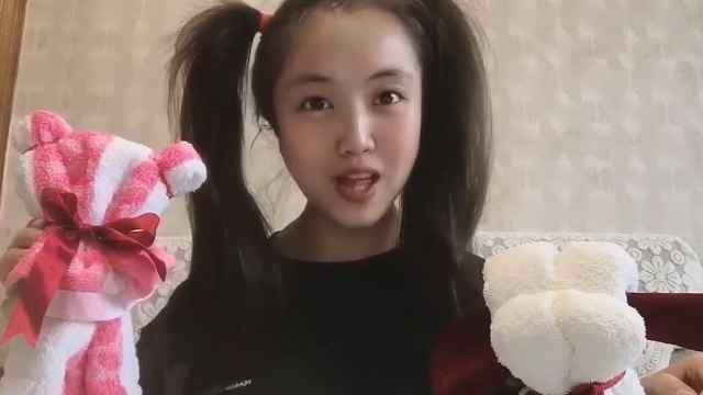 丑小鸭姐姐教你做简易毛巾手偶