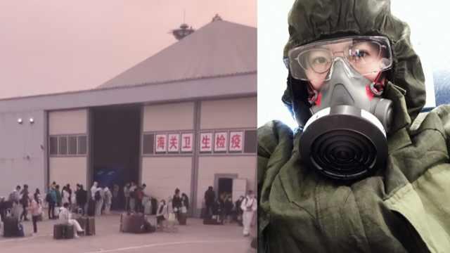 归国路 | 英国留学生戴10小时防毒面具回国,分享返程攻略