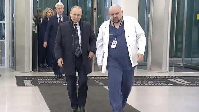 克里姆林宫现一新冠确诊病例,与普京没有接触