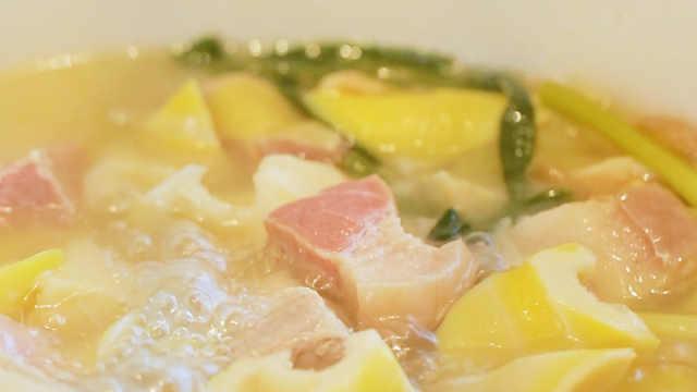 属于春天的正宗上海腌笃鲜,竟吃出了心动的味道!