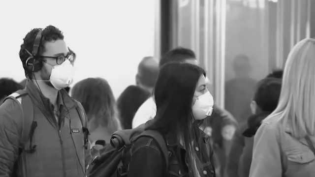 全球各地开始要求民众戴口罩,研究称亚洲习惯戴口罩传播减缓