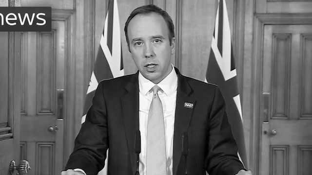 英国卫生大臣:本月底实现每天检测10万人