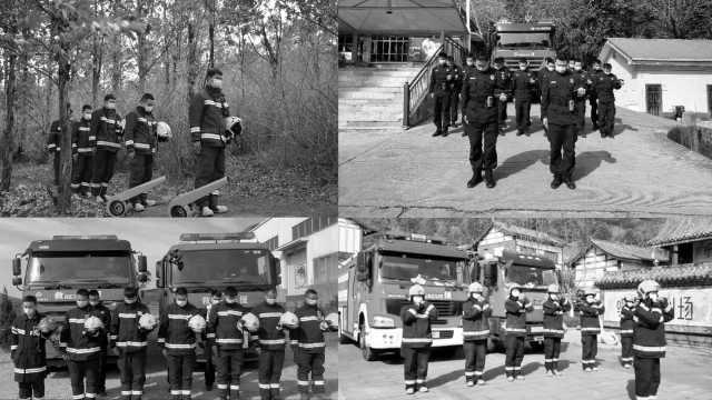 化悲痛为力量!驻守西昌的各路救火英雄集体摘帽默哀