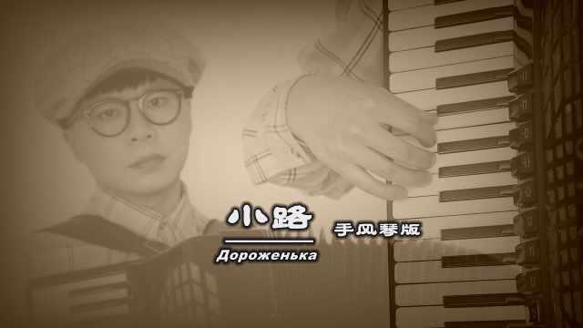 经典歌曲《小路》——手风琴版