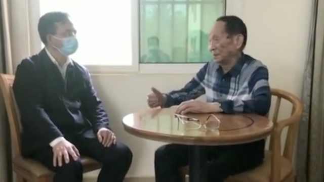 袁隆平和同事谈世界疫情防控:多国学习中国经验,全国动员