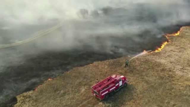 切尔诺贝利山火会引发新的核灾难吗?