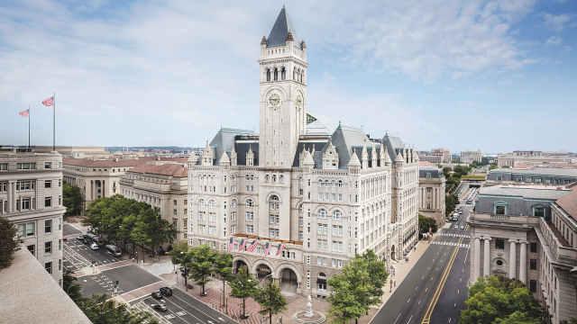 特朗普集团每天损失超100万美元,请求政府减免酒店租金