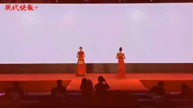 丝绸时装秀尽显国风之美,版权助力江苏丝绸产业走向世界