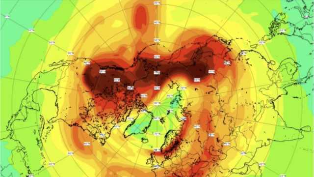 北极最大臭氧层空洞补上了!面积超过100万平方公里
