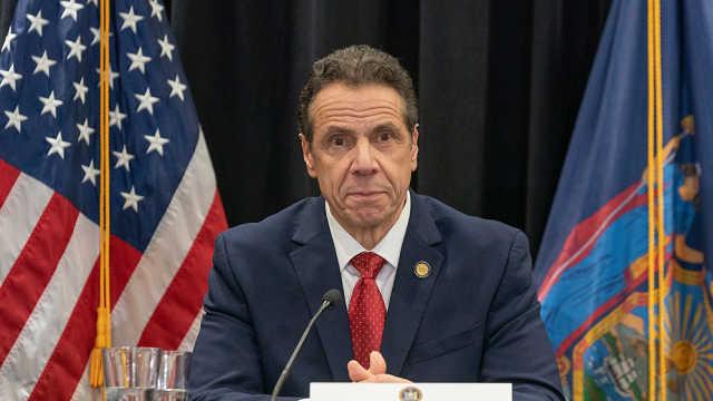 震惊的数据!纽约州长称近七成新冠患者隔离在家被感染