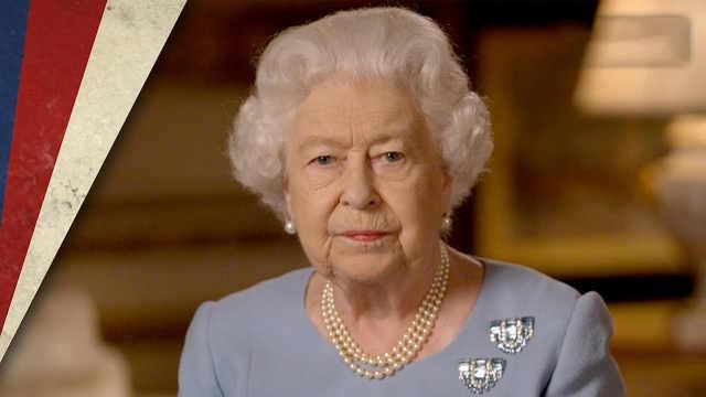 英国女王胜利日致辞:这场战争无人幸免,请永不放弃永不绝望