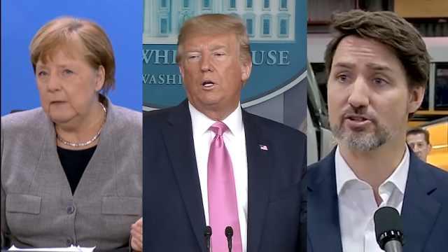 向国民描述新冠疫情,特朗普和其他领导人有何不同?