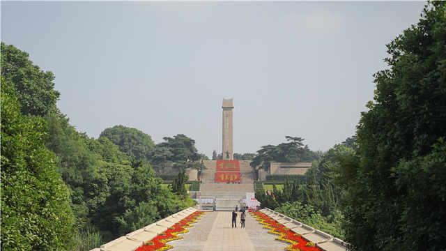 """150米展线,江苏""""四种革命精神""""联展在雨花台开幕"""