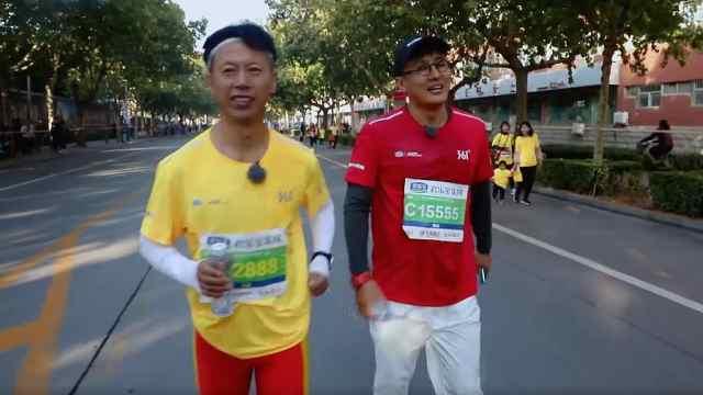 《你要去哪儿》程成参加幼儿组马拉松跑,想拿冠军不容易
