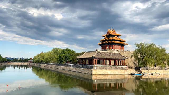 每一帧都是壁纸:北京周末收获好天气,蓝天白云美如画