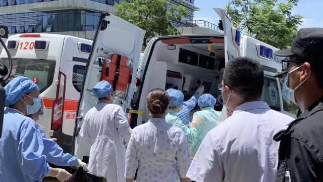 温岭爆炸13名伤者转至杭州,每人配备4名医护