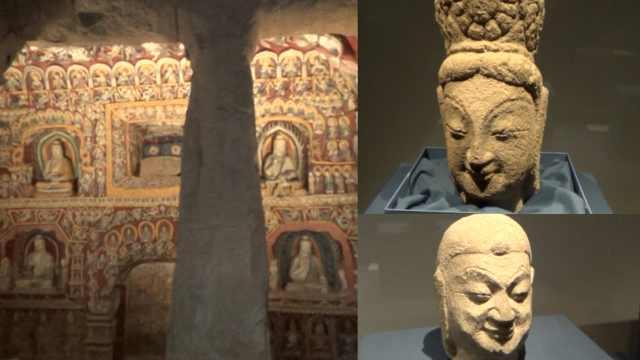 浙大20台3D打印机打印云冈石窟,多个文物首亮相