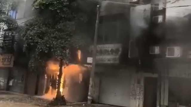 广西防城港一民房突发起火6人遇难,火灾原因核查中