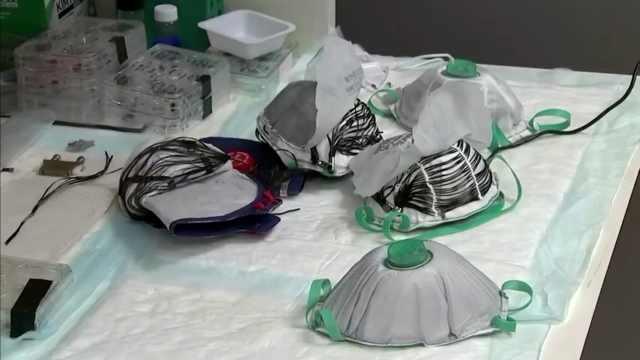 以色列研发充电消毒口罩,可加热消毒重复利用