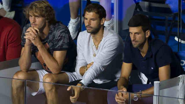 网球名将迪米特洛夫感染新冠,德约等众多球星为密切接触者