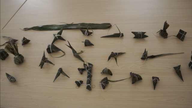 66岁巧手木工能包48种花样粽子:曾为故宫修文物