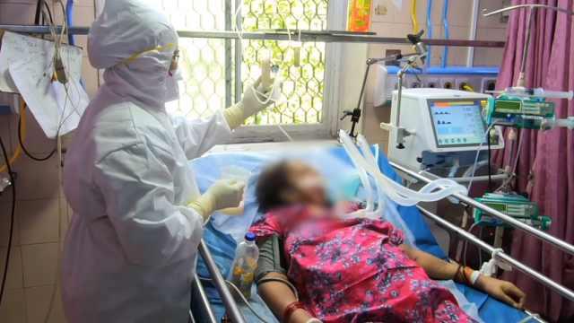 印度确诊超50万,实拍孟买重症病房:连续工作6小时不喝水