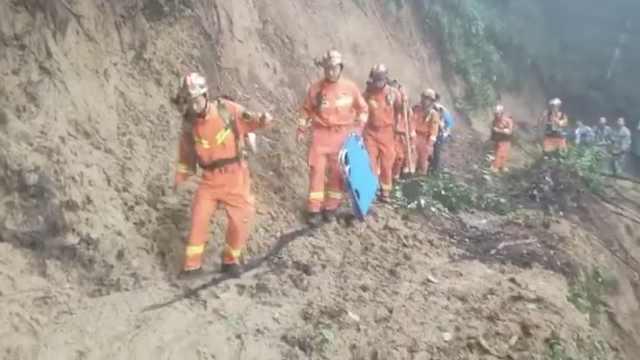 云南盈江突发山体滑坡,3人失联,177名村民就近