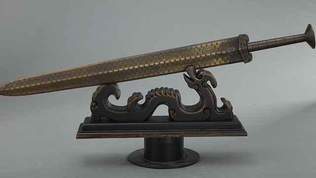 楚国越王勾践剑,到底有何魔力千年不朽?究竟有什么秘密?