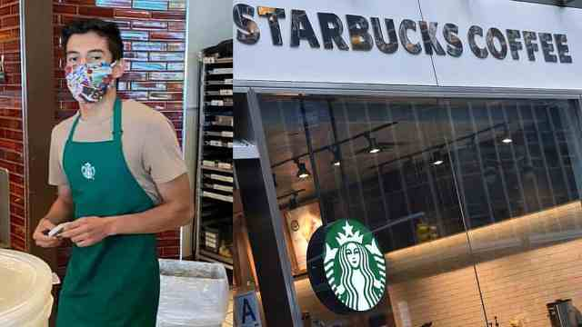 星巴克店员拒绝不戴口罩顾客,获赠8万美元