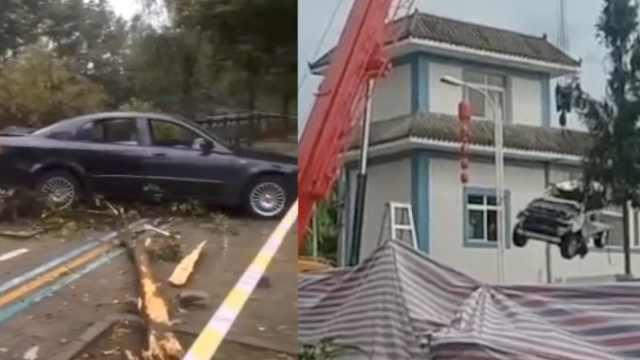 都江堰车辆坠河系刑事案件,车已捞起失联3人仍