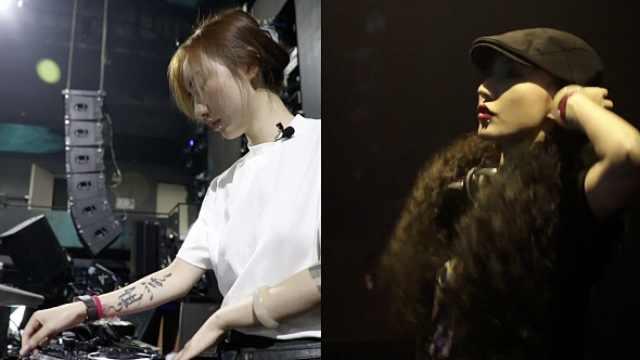 90后美女DJ白天是淑女晚上变辣妹,与千人互动嗨翻全场