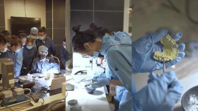 聋哑大学生做假牙雕刻师,医院院长:被他们的