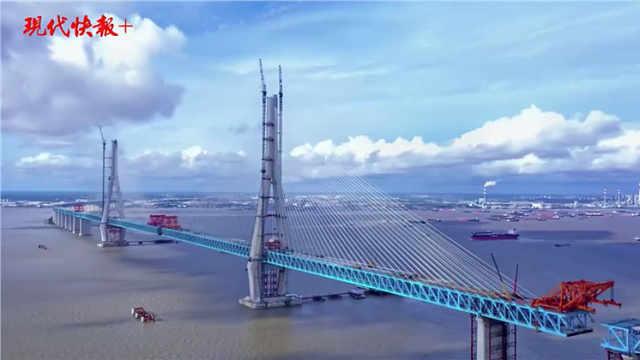 """创造多项世界第一的网红桥!原来你是这样的""""沪苏通"""""""
