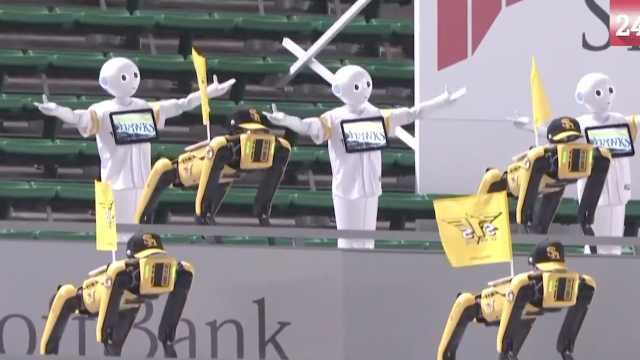 日本职棒推出机器人拉拉队,画风诡异遭吐槽