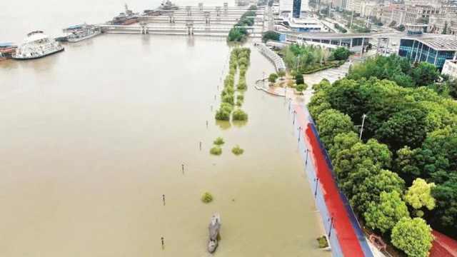 直播:武汉两江四岸闸口封闭 长江水位持续高位