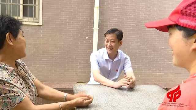 【榜样人物】李长兵:居民的幸福就是我的快乐!