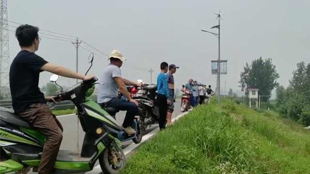 淮河蓄洪区村民目睹农田被淹:有损失,但舍小家为大家