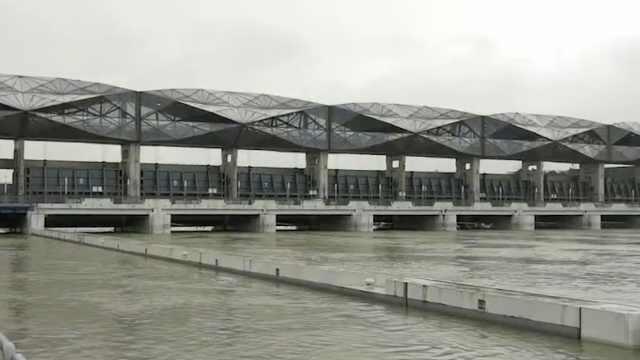 防汛直击 | 太湖全力排洪