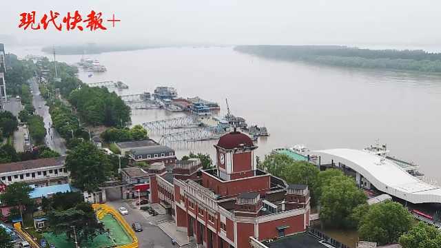 震撼60秒航拍 | 直击南京六大水域汛情现场
