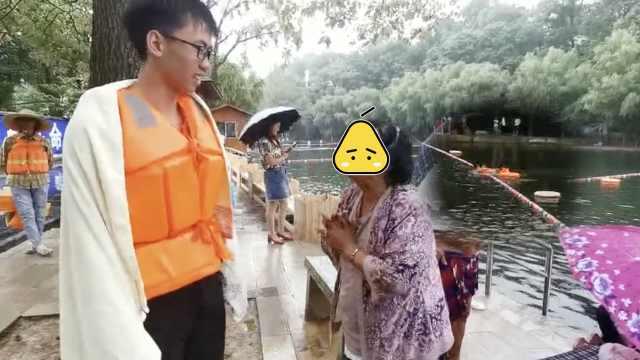 半月2名老人落水!贵阳76岁老太下河游泳,被绳