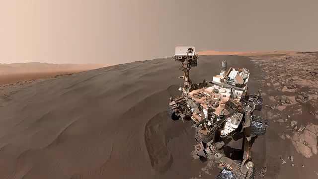 前所未有的画面!火星表面照片被制成4K视频,令