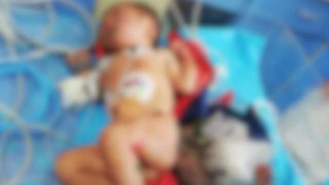 弃婴被送到医院护士泪奔:不知道妈妈为什么抛弃她