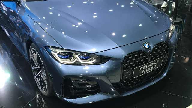 在中国迎来首秀的全新BMW 4系双门轿跑车,只要这个价格?