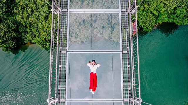 广州周边游 | 挑战世界最长的玻璃桥