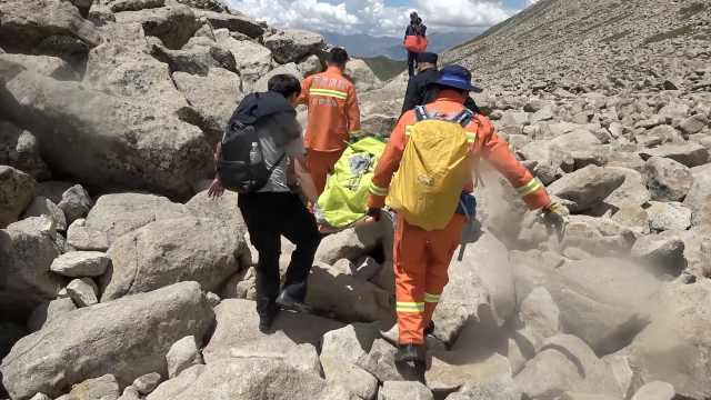 男子山中搭帐篷露营15天被困,消防员翻3座海拔5千米高山搜救